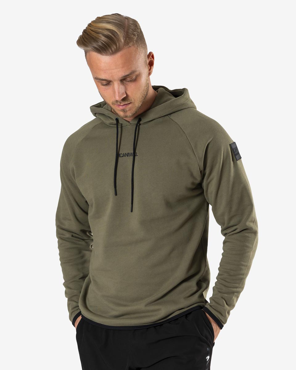 Training Hoodie Army Green Men