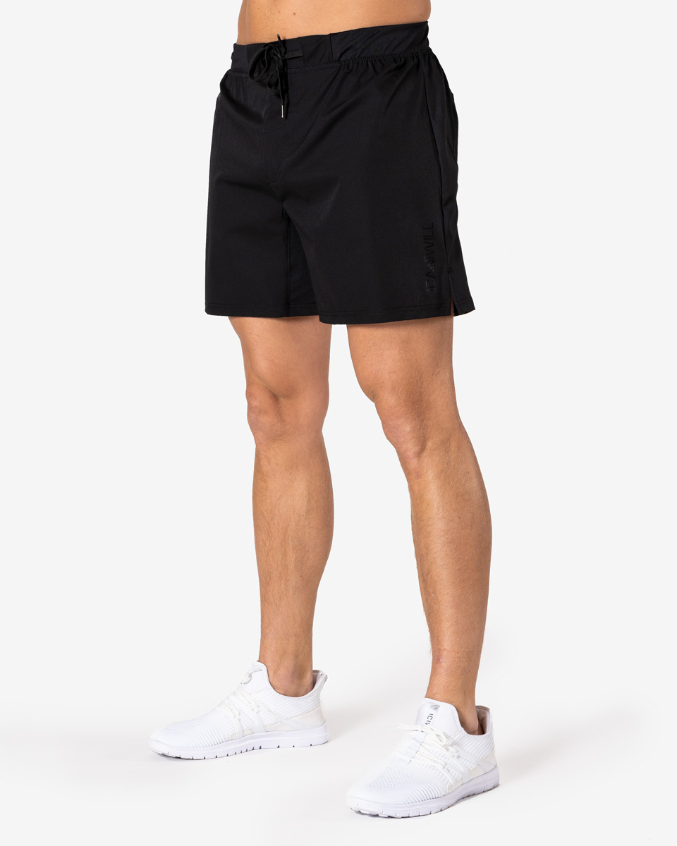 Perform Short Shorts Black Men